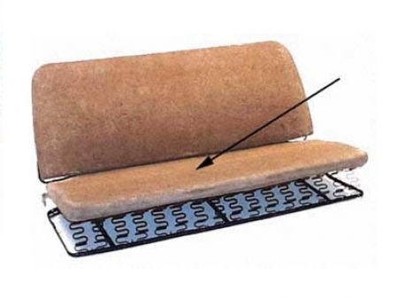 Paille de réparation d'assise de banquette arrière 1956-1964