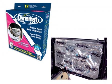 Dynamat Xtreme - kit portières - 4 feuilles 90 x 30 cm