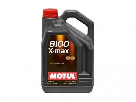 Oil - MOTUL 8100 X-POWER - 10W60 - 5 liters