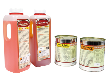 Tank treatment - Super Kit RESTOM - 25 to 40 liters