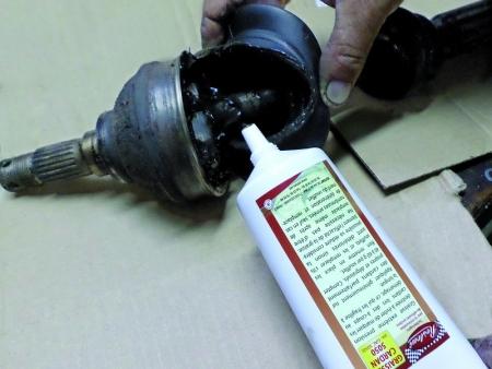 Drive-shaft grease Restom 5050 - 200 ml. (Tube)