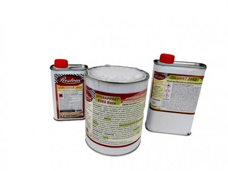Apprêt Epoxy ultra garnissant - Restom Epoxapprêt 9000 - 6 kg.