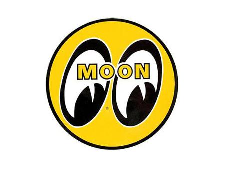 Sticker - Moon eyes - 76 mm