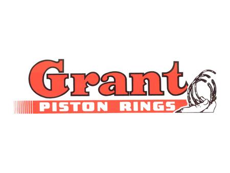 Sticker - GRANT PISTON RING