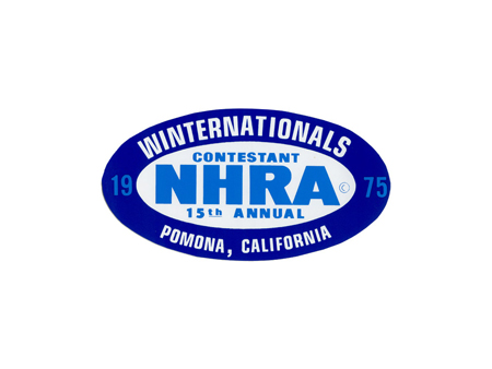 Sticker - NHRAWINTERNATIONAL