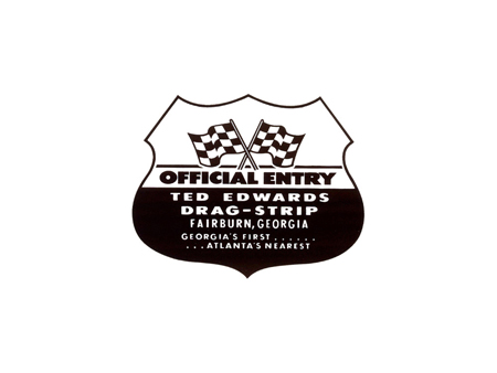Sticker - TED EDWARDS DRAGSTRIP