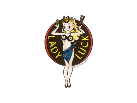 Sticker - LADY LUCK