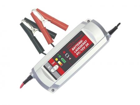 Chargeur de batterie Dino - 6/12Volts - 3A