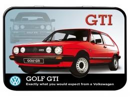 Boite Métal - Golf GTI