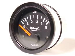 Oil pressure gauge - VDO 0-5 bar