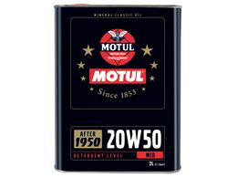 Oil - MOTUL Classic - 20W50 - 2 liters