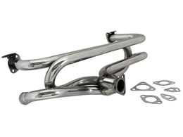 4 into 1 header - small flange - Stainless Steel