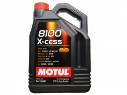 Huile MOTUL 8100 X-cess - 5W ...