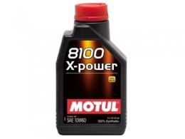 Huile MOTUL 8100 X-POWER - 1 ...