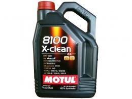 Huile MOTUL 8100 X-clean - 5 ...
