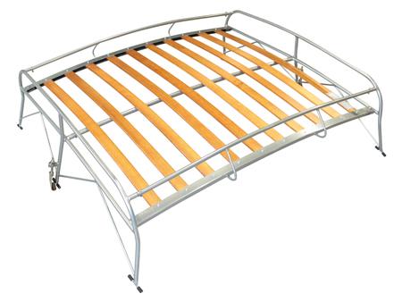 Roof rack - Gray & wood