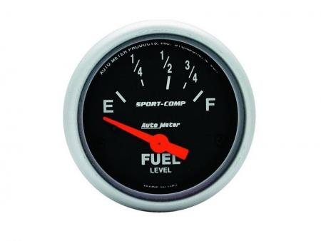 Fuel gauge - AUTOMETER Sport Comp - dia 52 mm
