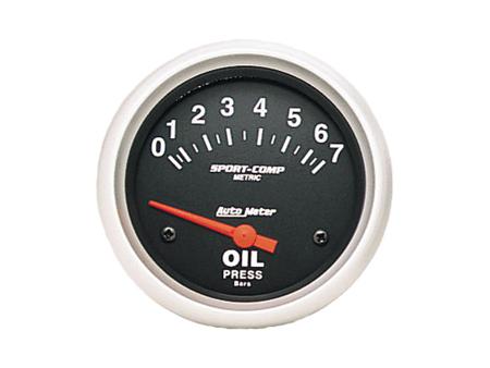 Oil pressure gauge - AUTOMETER Sport Comp 0-7 bar