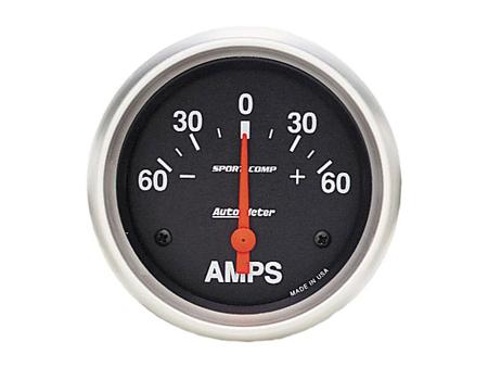 Ammeter AUTOMETER Sport Comp 60-0-60 Amp