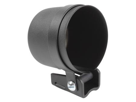 Gauge mounting cup - 67 mm - black