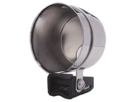 Gauge mounting cup - 67 mm - chrome
