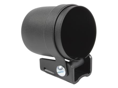 Gauge mounting cup - 52 mm - black