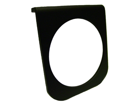Gauge mount - 67 mm - under dashboard - 1 hole