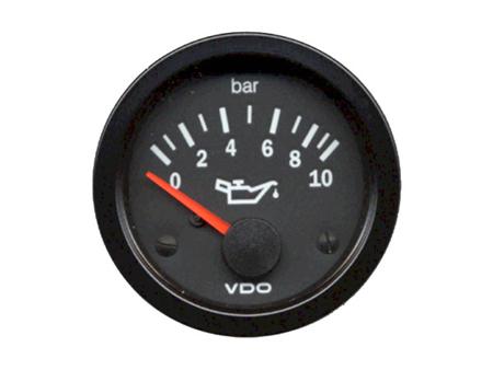 Oil pressure gauge - VDO 0-10 bar