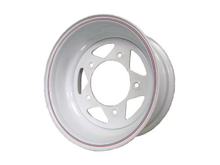 Wheel - TRIANGULAR - 5x205 - 8x15 - White - ET -37