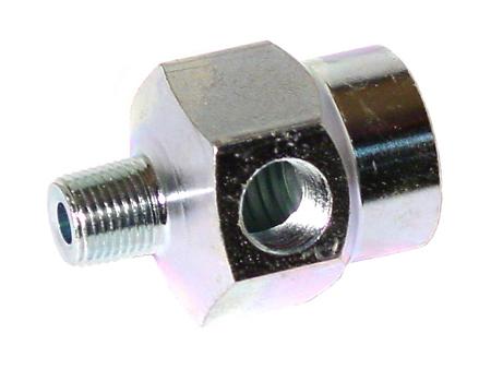 Pressure and temperature sensor adapter