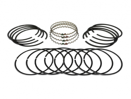 Piston ring set - 92 mm - 2/2/4 - longlife