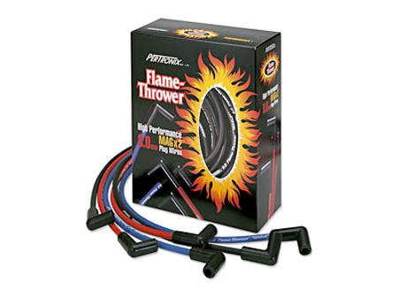 Cables de bujía Flame Thrower - 8mm - universal - rojo