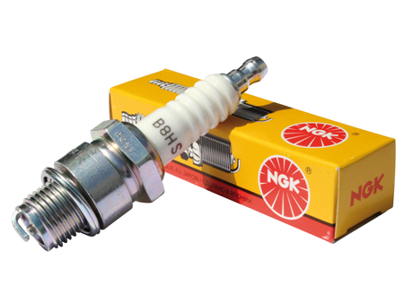 Spark plug NGK B8HS - 14 mm short reach - (cooler)