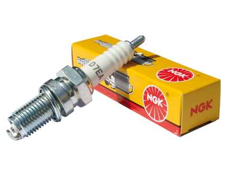 Spark plug NGK D7EA - 12 mm long reach (cooler)