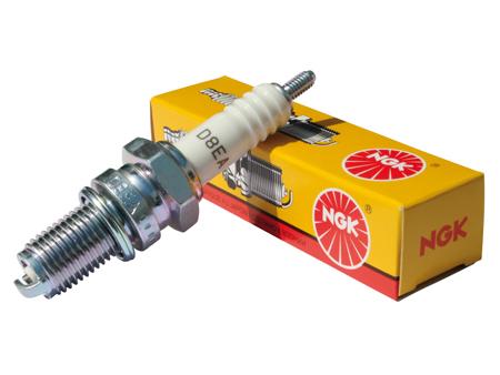 Spark plug NGK D8EA - 12 mm long reach (cooler)
