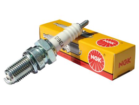 Spark plug NGK D9EA - 12 mm long reach (cooler)