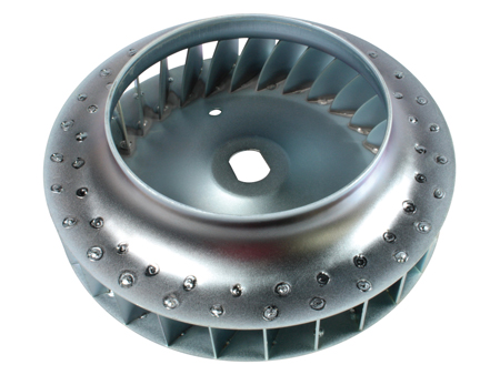 Cooling fan - welded - HQ