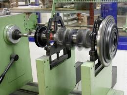 Balancing crankshaft + flywheel + clutch - street